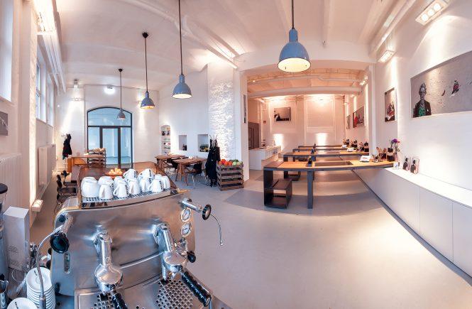 Die cookionista Kochschule - Kochen im Industrial-Style: Der Koch.Kunst.Raum in Nürnberg