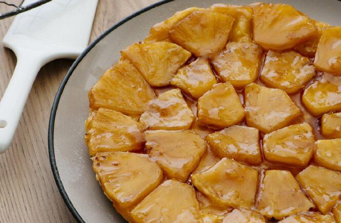 Rezept Ananas Tarte Tatin mit Vanillekaramell